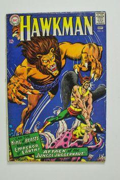 Hawkman #21 (1967, DC) FN-   *no reserve