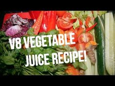 V8 Juice Recipe : Juicing Recipes for Weight Loss, Health and Vitality! - YouTube