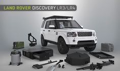 Land Rover Discovery LR3 / LR4 Accessories