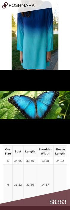 ⭐️30% OFF BUNDLESCOMING SOON Morpho Butterfly Polyester/cotton blendI'm offering 30% off 2 items or more. There's a $15 section at the bottom of my closet to help the discount kick inThe item is new, direct from maker without store tags. Posh Garden Dresses Mini