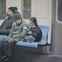 Bronx Bound 6 Train, by Michelle Riche, 2010