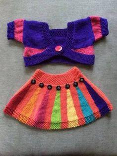 15 Increíbles Diseños de Faldas Tejidas para Niñas ¡Te Encantarán!