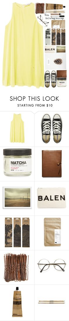 """""""Sequoia"""" by isabellarose958 ❤ liked on Polyvore featuring MANGO, Converse, PLANT, Coach, Balenciaga, Jayson Home, Paper & Tea, Aesop and Bare Escentuals"""