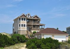 Twiddy Outer Banks Vacation Home - Powell's Port - 4x4 - Oceanfront - 5 Bedrooms