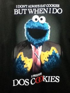 Most Interesting Sesame Street Character.
