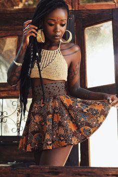 darkskinnedblackbeauty:  Manaka IG:. @voodoufairy