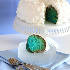 Blue Hawaiian Bundt Cake