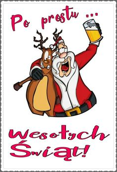 Kartka świąteczna 🌲🎅⛄🌲🎅⛄🌲🎅 Merry Christmas, Xmas, Satire, Winter Time, Holidays And Events, Motto, Haha, Humor, Funny