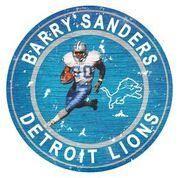 Barry Sanders Player Team Circle