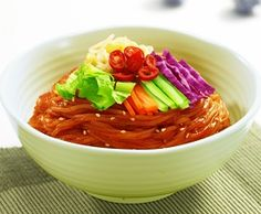 Korean Food | Jjolmyun | Spicy Chewy Noodles