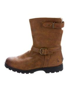 #The RealReal - #UGG Australia UGG Australia Shearling Ankle Boots - AdoreWe.com