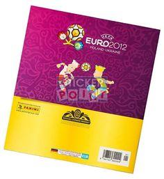 Panini EM Euro 2012 Sammelalbum Rückseite
