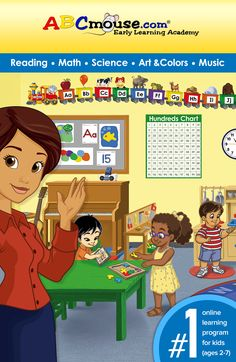 The leading online learning program for kids (ages 2-7)! Try ABCmouse.com FREE for 30 days.  #ABCmouse