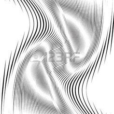 Padr�o ondulado, fundo arte op. Backdrop Hypnotic com linhas pretas geom�tricas. Ladrilhos Abstract. photo