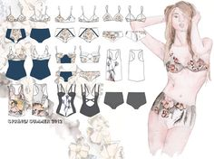 Tuesday's Child Lingerie collection