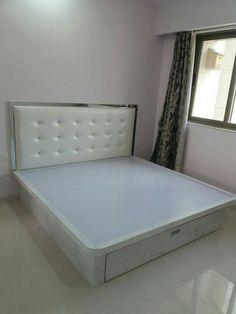 Bedroom Door Design, Bedroom Cupboard Designs, Wardrobe Design Bedroom, Bedroom Furniture Design, Bed Furniture, Bedroom Decor, Modern Furniture, Simple Bed Designs, Bed Designs With Storage
