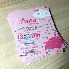 "37 Likes, 1 Comments - Personalize Conviteria (@personalizeconviteria) on Instagram: ""O tema mais fofo do momento! Chuva de amor pro chá da Laurinha! #chuvadeamor…"""
