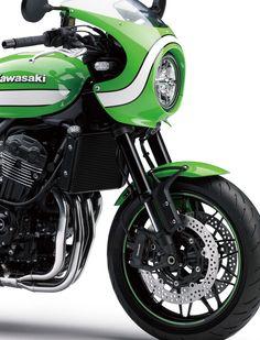 Kawasaki Cafe Coming to the USA, After All - Asphalt & Rubber Kawasaki Cafe Racer, Kawasaki Motorcycles, Triumph Motorcycles, Custom Motorcycles, Custom Bikes, Ducati, Yamaha, Cafe Racing, Auto Racing