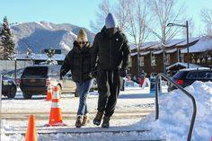 December 30, 2020 | Dakota and Chris in Aspen. #dakotajohnson The Shah Of Iran, Dakota Johnson, Aspen, Travel Tips, Dj, Outdoor, December, Outdoors, Travel Advice
