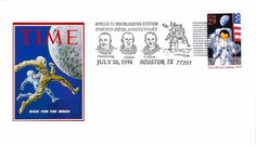 1994 25th Anniversary Apollo 11 Moon Landing Station Event Cover