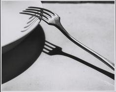 Fork; André Kertész (American, born Hungary, 1894 - 1985); Paris, France; 1928; Gelatin silver print; 19.8 x 24.8 cm (7 13/16 x 9 3/4 in.); 84.XM.193.31; J. Paul Getty Museum, Los Angeles, California