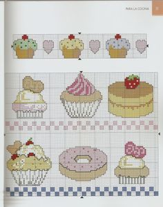 Brilliant Cross Stitch Embroidery Tips Ideas. Mesmerizing Cross Stitch Embroidery Tips Ideas. Cross Stitch Fruit, Xmas Cross Stitch, Cross Stitch Boards, Cross Stitch Kitchen, Just Cross Stitch, Cross Stitch Bookmarks, Cross Stitch Baby, Cross Stitching, Learn Embroidery