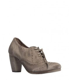 jenna oxford boots | Suede Oxford style round toe shoe | My Style