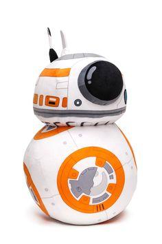 Peluche droide BB-8 de 45 cm. Star Wars Episodio VII. Joy Toy Estupendo peluche del personaje del droide BB-8 de 45 cm de altura y fabricado en materiales de alta calidad, 100% en poliéster y que es por supuesto 100% oficial y licenciado. Es un artículo que encantará a los fans de la entrega de Star Wars Episodio VII.