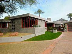Benjamin Adelman House. 1953. Scottsdale, Arizona. Usonian Style. Frank Lloyd Wright.