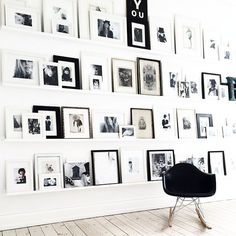 10 Gorgeous Gallery Walls We're Swooning Over | Bloglovin' Home | Bloglovin'