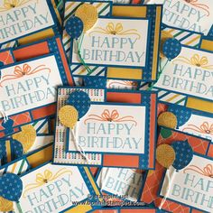 #occasions2017, #bigonbirthdays, #partyanimalDSP, #birthdaycards