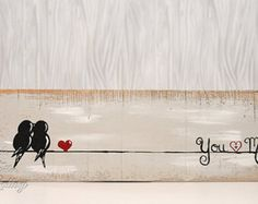 5 º aniversario amor rústico regalo para él por LindaFehlenGallery