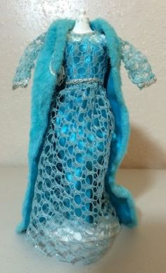 Francies-HTF-Twilight-Twinkle-3459-Blue-Dress-Cape-Barbie-Doll-Clothes