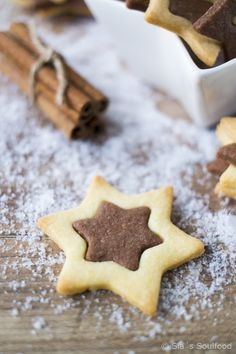 gingerbread cocoa biscuits