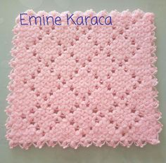 Kare lif Tatting, Diy And Crafts, Projects To Try, Blanket, Crochet Stitches, Craft, Rage, Amigurumi, Tricot
