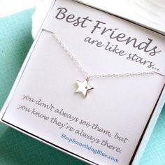 Resultado de imagen para friends are like stars necklace