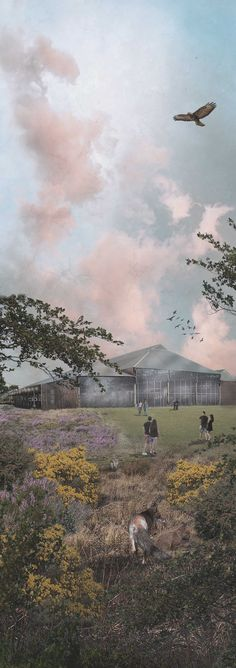 MSc Landscape Architecture - Edinburgh College of Art - Final Year Project Abattoir Park Visual, by Meg Johannessen