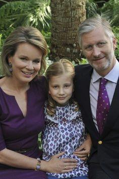 King Philippe & Queen Mathilde of Belgium