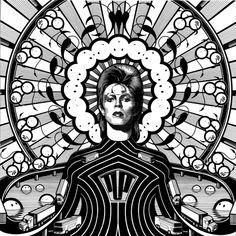 La police de London, 'Tout grêle Sir David Bowie,' 2013, Opera Gallery