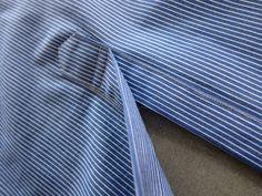 male pattern boldness: Men's Shirt Sew-Along 4 -- The Placket Racket