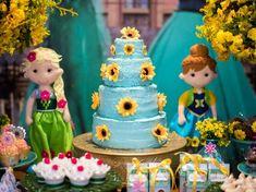 Uma festa para celebrar a chegada da nova estação e dos quatro aninhos da pequena Valentina.