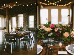 Industrial Indoor Wedding Inspiration - Weddbook