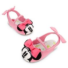 Minnie Mouse Slingback Shoes for Baby