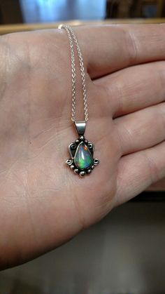 This opal had a lot of character