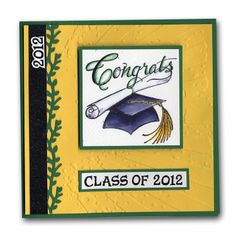 Northwoods Grad Hat 2012 Card