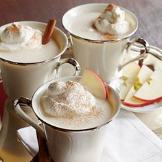 Cozy Apple Cider  Apple Nog Recipes—creamy, mulled, spiked and sparkling