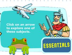 "4 Learning website - full of great ides! I looove the ""Essentials"": Science, History, Geography for 7-11 year olds!"