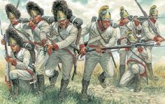 Austrian Grenadiers & Line Infantry charge shoulder to shoulder