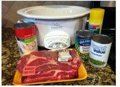 pot roast crockpot recipe