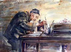 Adan J Cespedes #Watercolor Maestro www.adanjcespedes.com